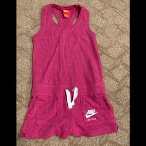 Nike Just Do It Kids Athletic One-Piece Romper